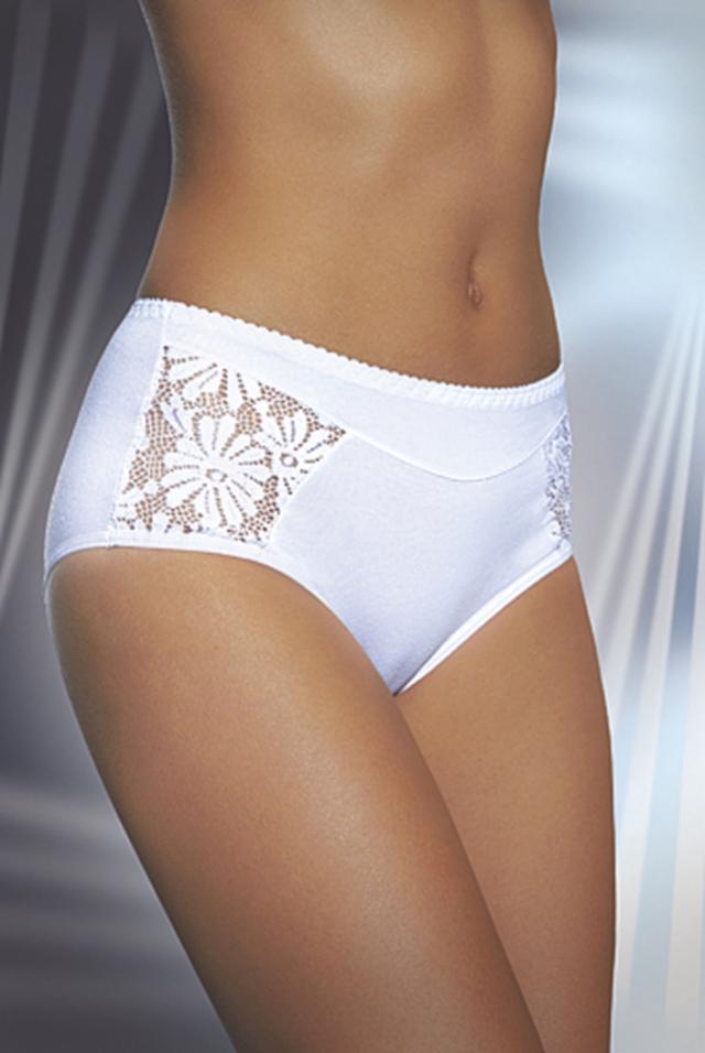Dámské kalhotky 2 - DAREX - S - BÍLÁ
