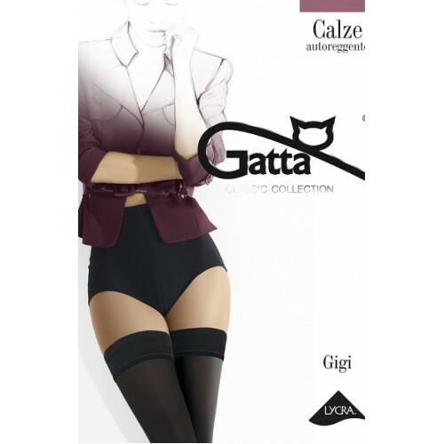 Samodržící punčochy Gigi 04 - Gatta