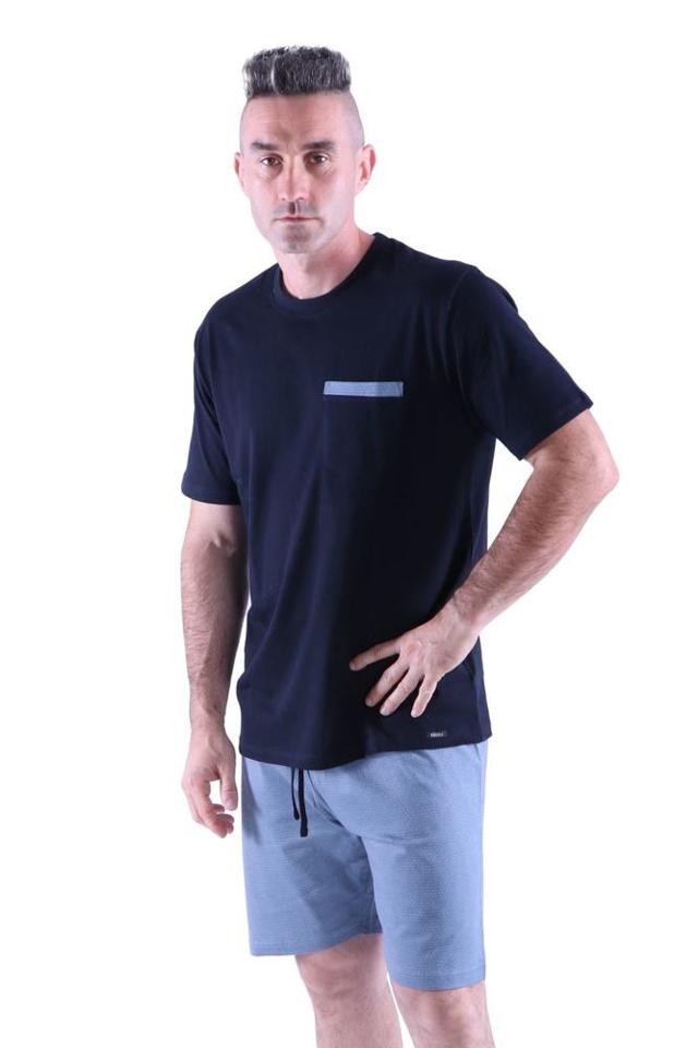 Pánské pyžamo Matty černé - XL
