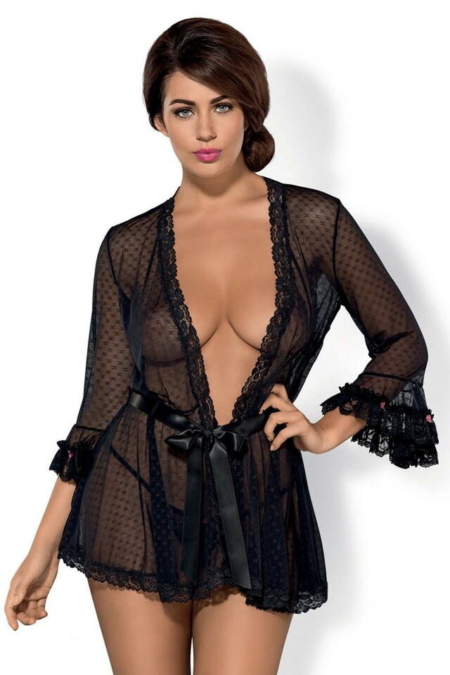 Erotický župan Piccorosa robe - S/M - viz foto