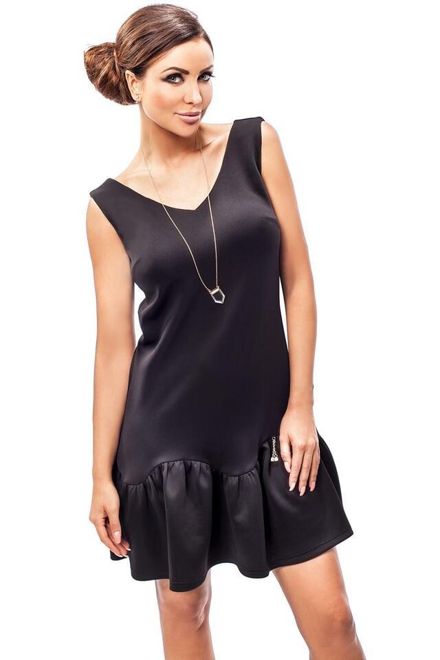 Dámské šaty Enny 190051 - 36 - černá