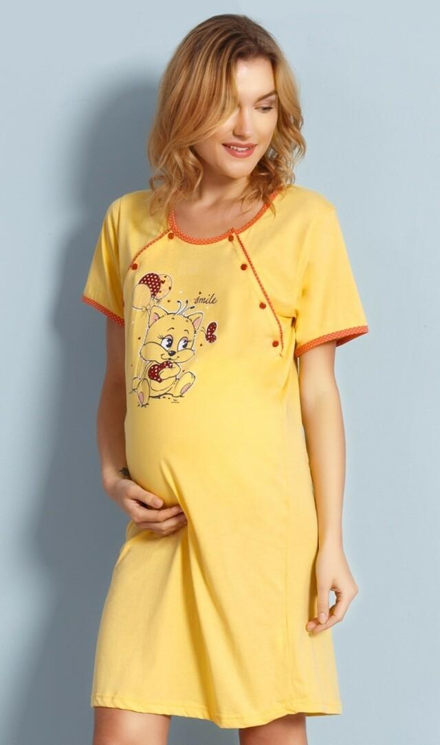 Dámská noční košile mateřská Malé kotě