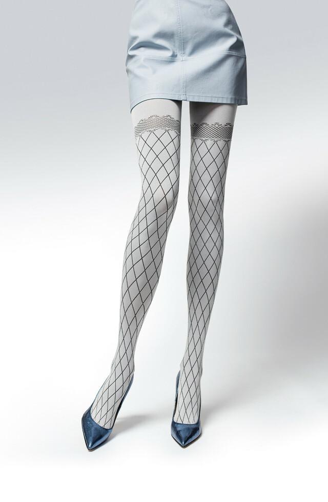 Punčochové kalhoty Knittex Fairy 50 den - 2-S - tmav modrá