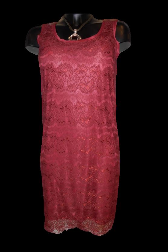 Dámské šaty 23Q672 - Rich Royal - XS - bordó