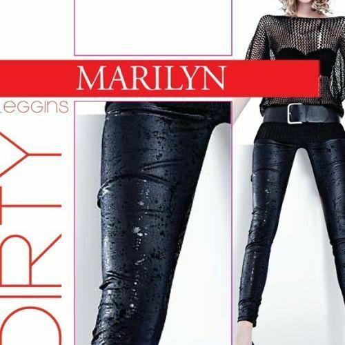 Dámské legíny Dirty 681 120 DEN - Marilyn - S/M - černá