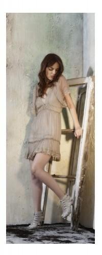 Šaty MSD50 - Morgana - L - hnědá
