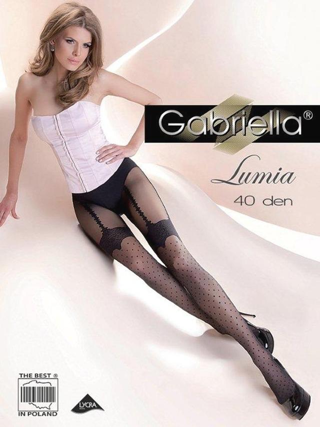 Dámské punčochové kalhoty Gabriella Lumia 40 den - 3-M - černá 61ecd245b2