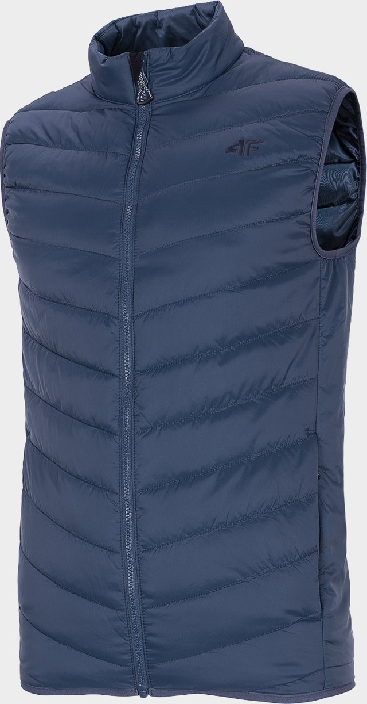 Pánská vesta 4F KUMP302 Tmavě modrá - L - Modrá