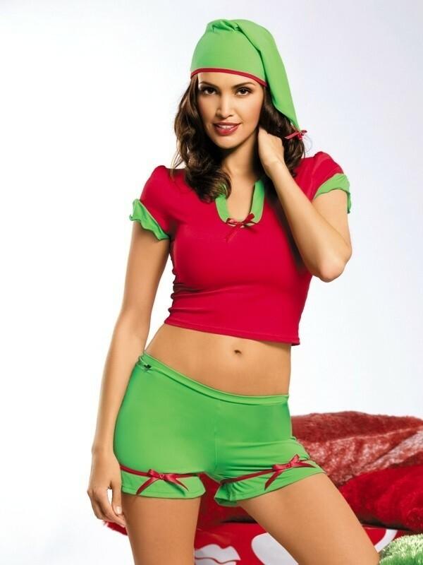 Vánoční kostým Elf - Obsessive - S/M