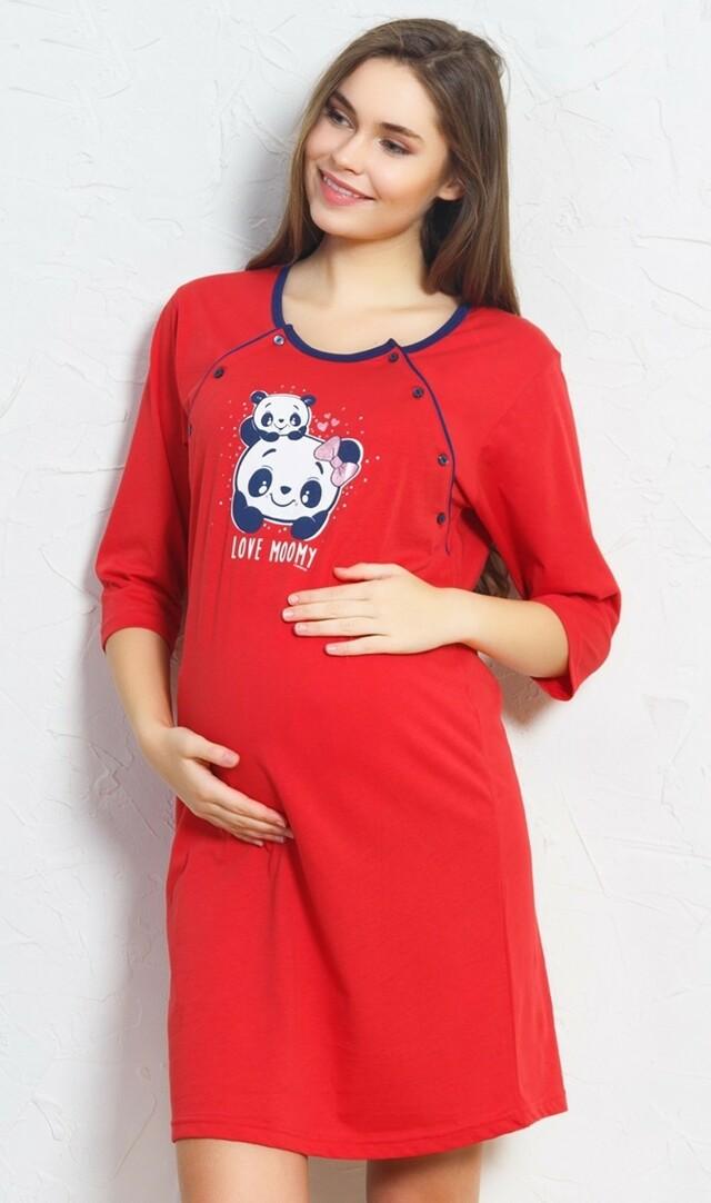 Dámská noční košile mateřská Panda
