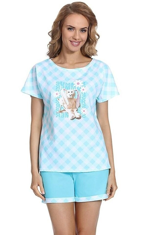 Dámské pyžamo 675/69 - Cornette - XL - tyrkysová