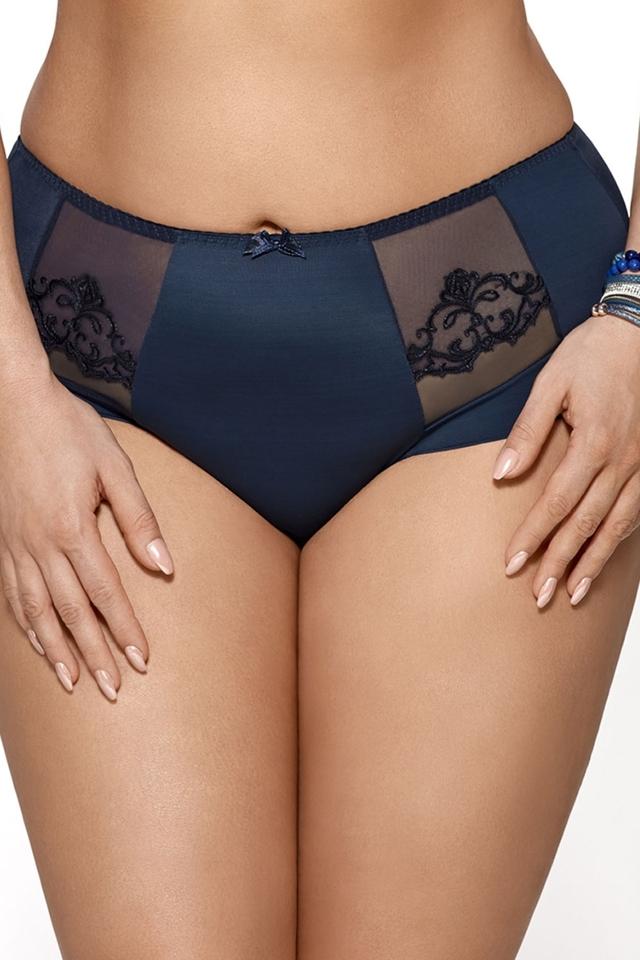 Dámské kalhotky K 452 Ashley - M - tmavě modrá