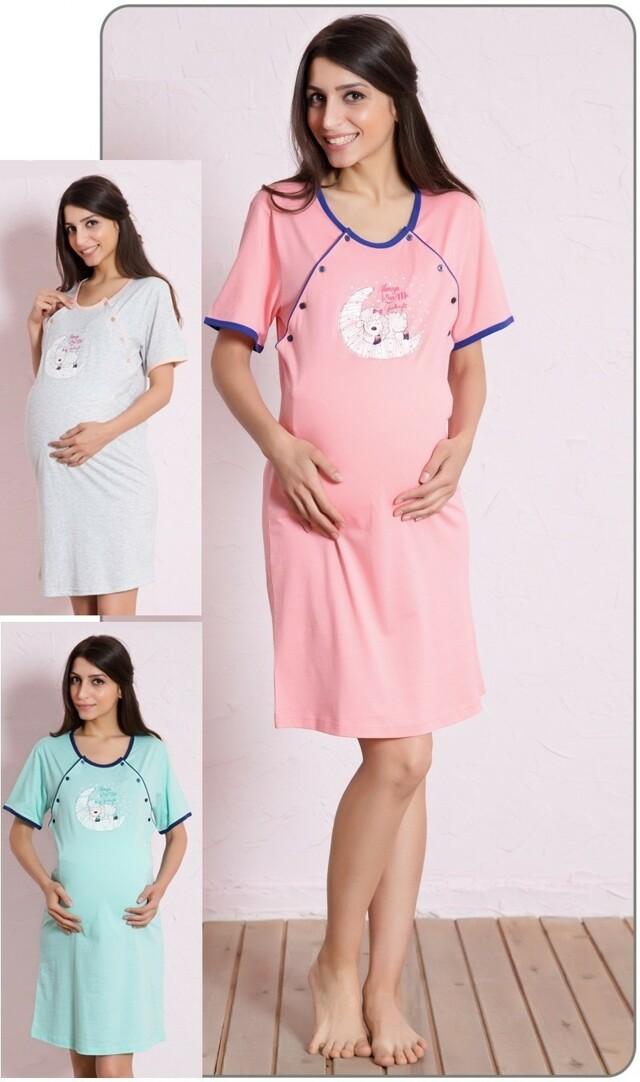 Dámská noční košile mateřská Ovce na měsíci