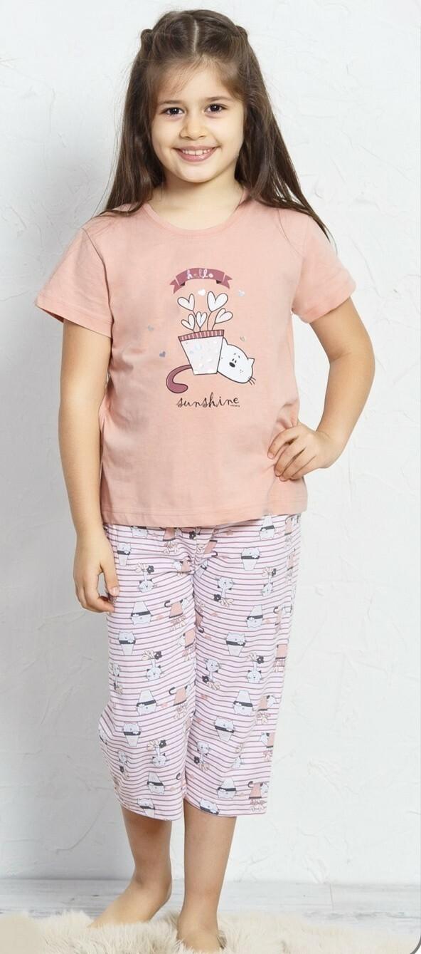 Dětské pyžamo kapri Koťátko