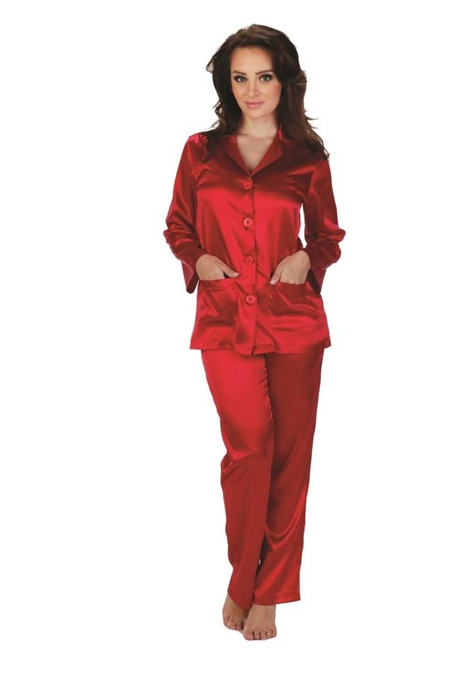 Dámské pyžamo CLASSIC 934 - DE LAFENSE - S - ČERNÁ