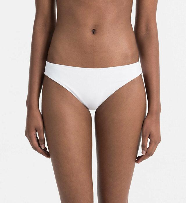 Spodní díl plavek KW0KW00232-100 bílá - Calvin Klein