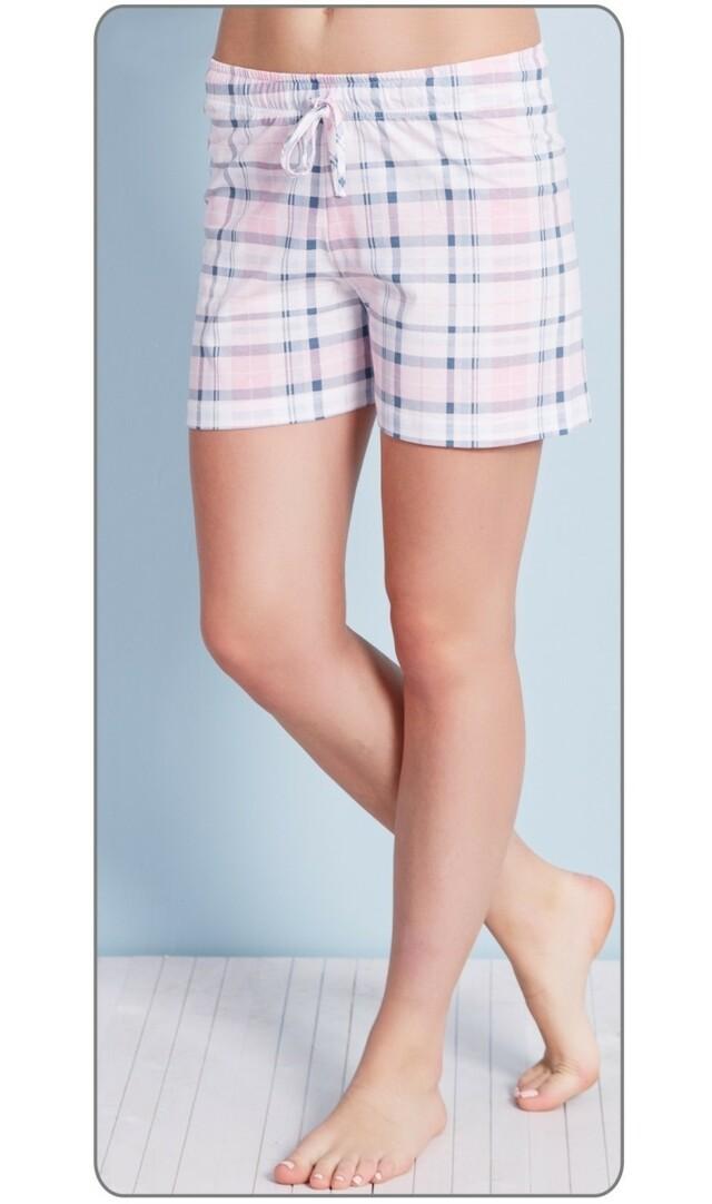 Dámské pyžamové šortky Magdalena - zelená 3XL