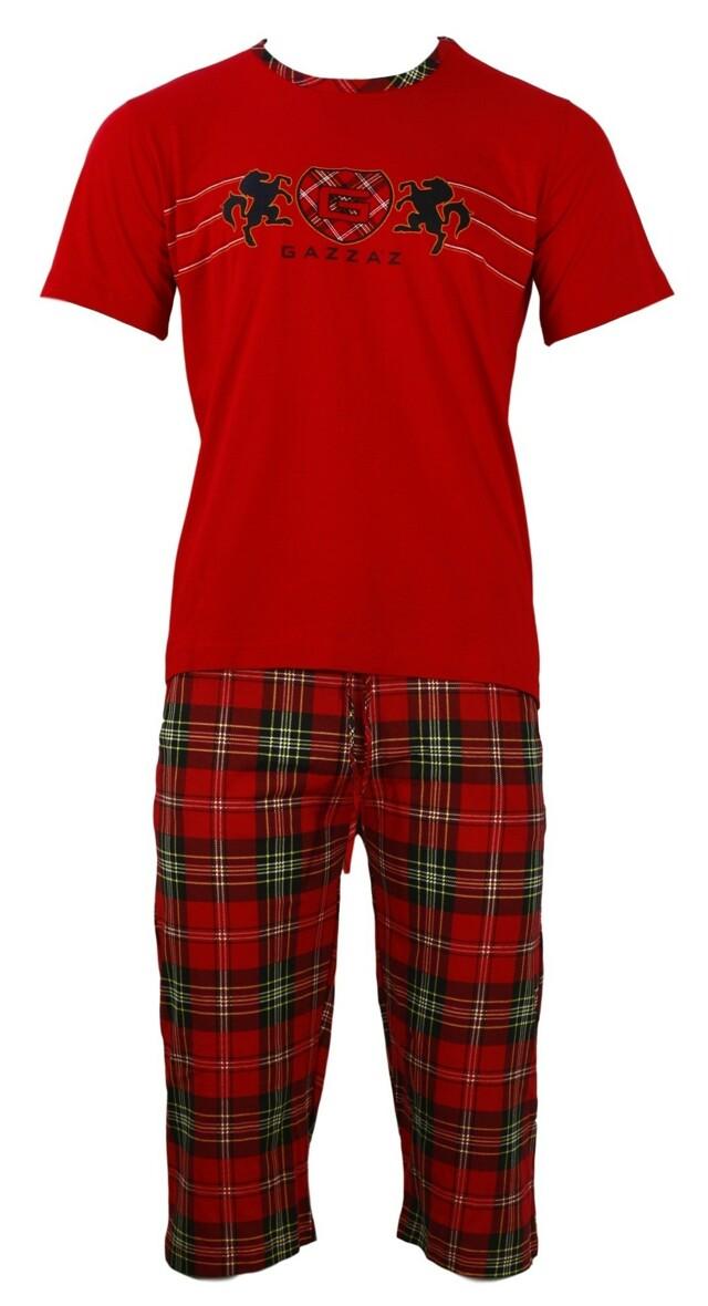 Pánské pyžamo - Gazzaz - M - červená