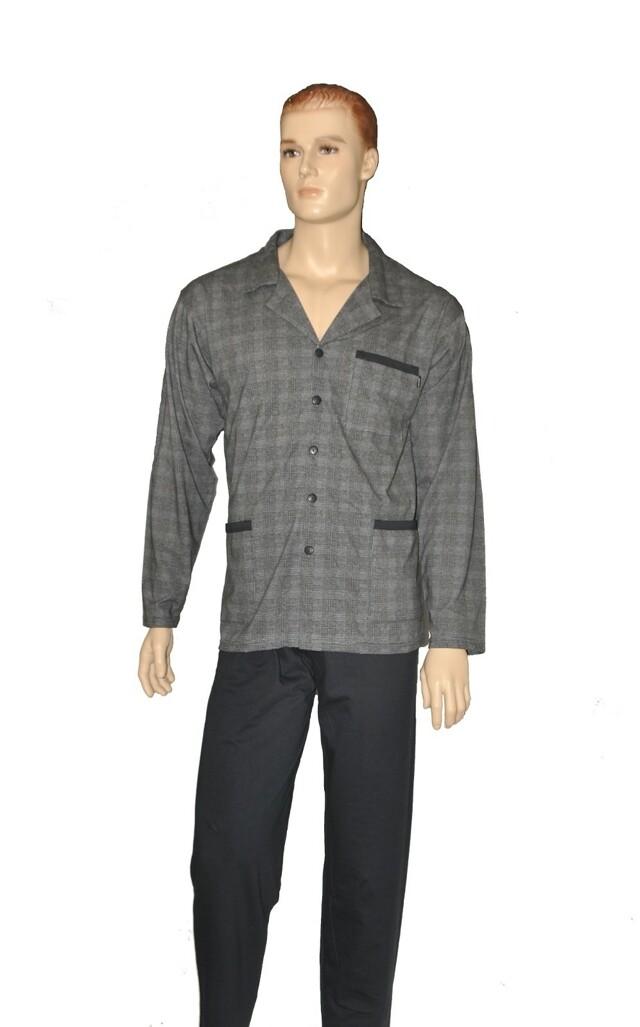 Pánské pyžamo Cornette 114/20 rozpinana M-2XL