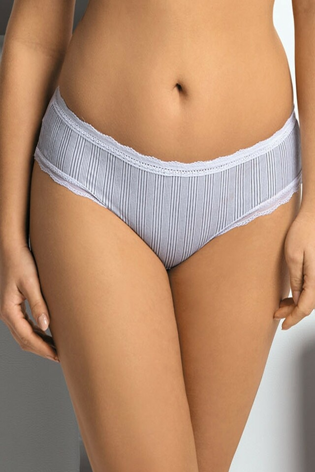 Dámské kalhotky 1287 - S - šedá