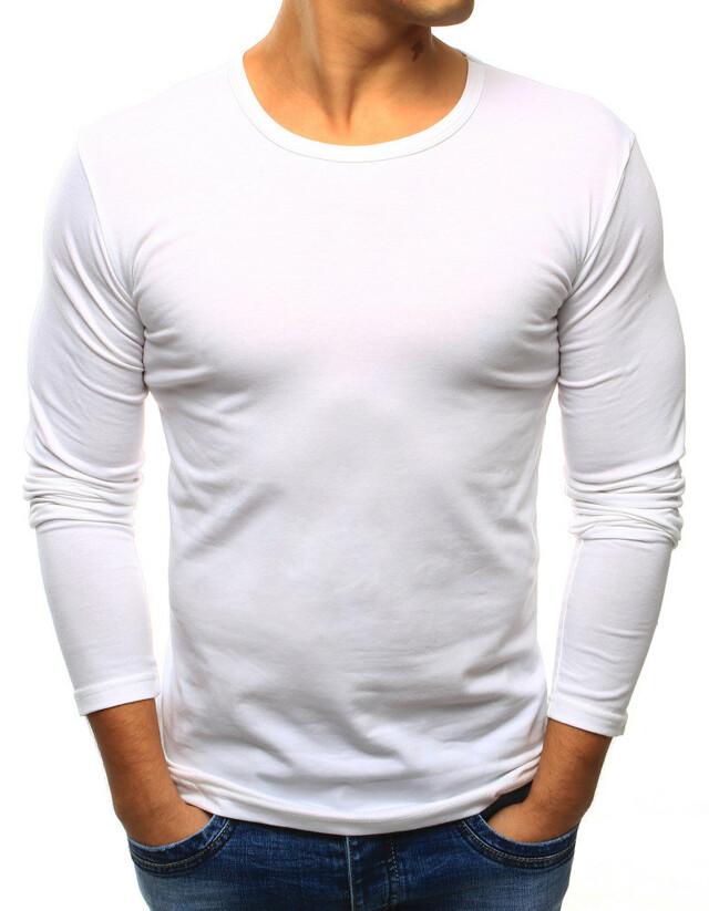 Pánské triko longsleeve 2099-1 (lx0421) - J.Style