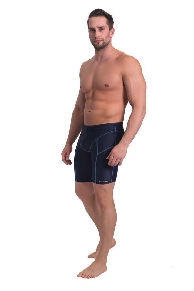Pánské plavky - boxerky BD 377 - SESTO SENSO - černá - M