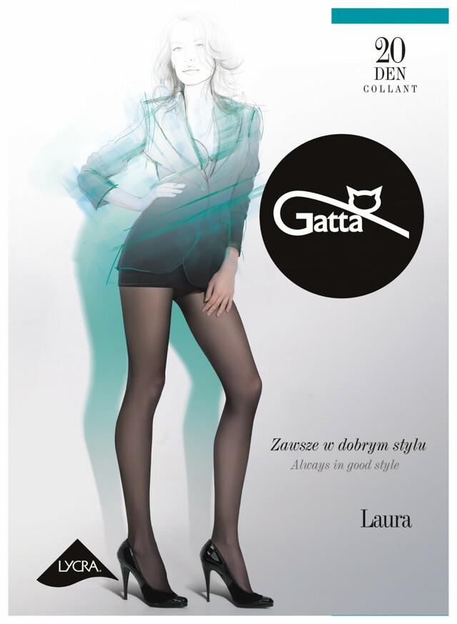 Punčochové kalhoty Gatta Laura 20 den 1-4 - 4-L - lyon/odstín hnědé