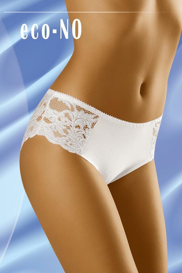 Dámské kalhotky Wol-Bar Eco-No - XL - bílá