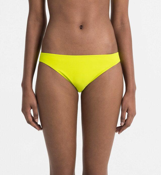 Spodní díl plavek KW0KW00082-311 žlutá - Calvin Klein