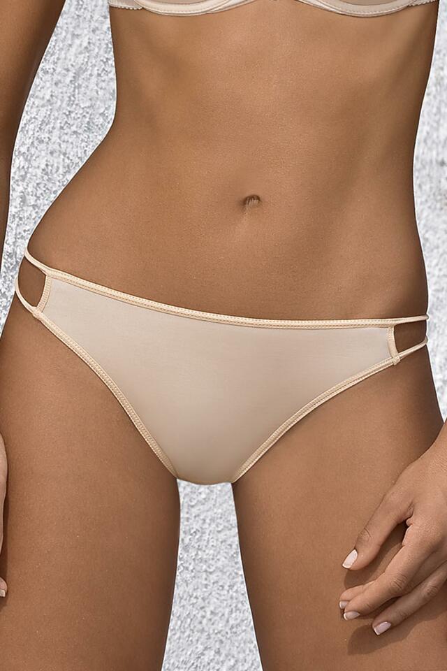 Kalhotky string Mat 537/4 Paula - 36 - bílá
