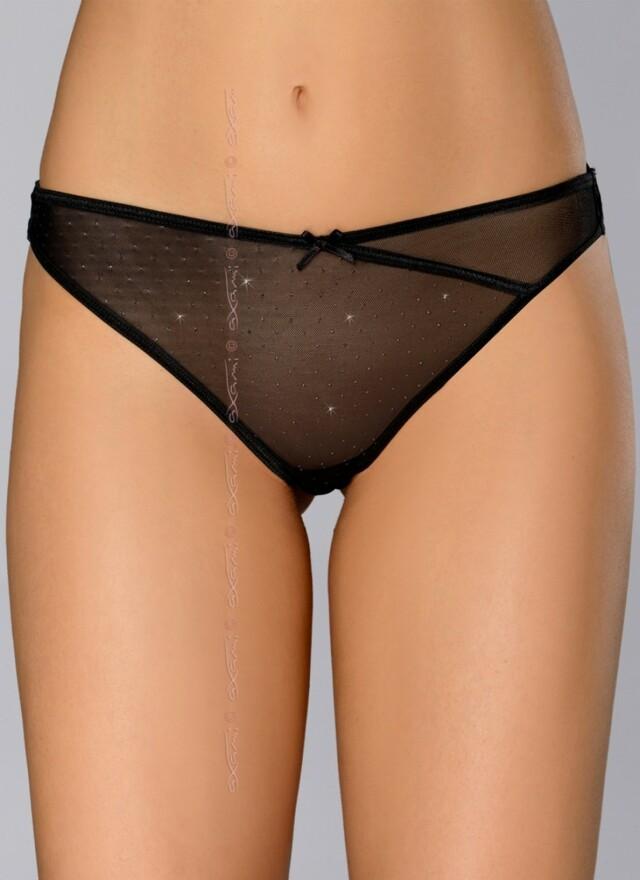Erotická tanga V-6108 Broadway - M - černá