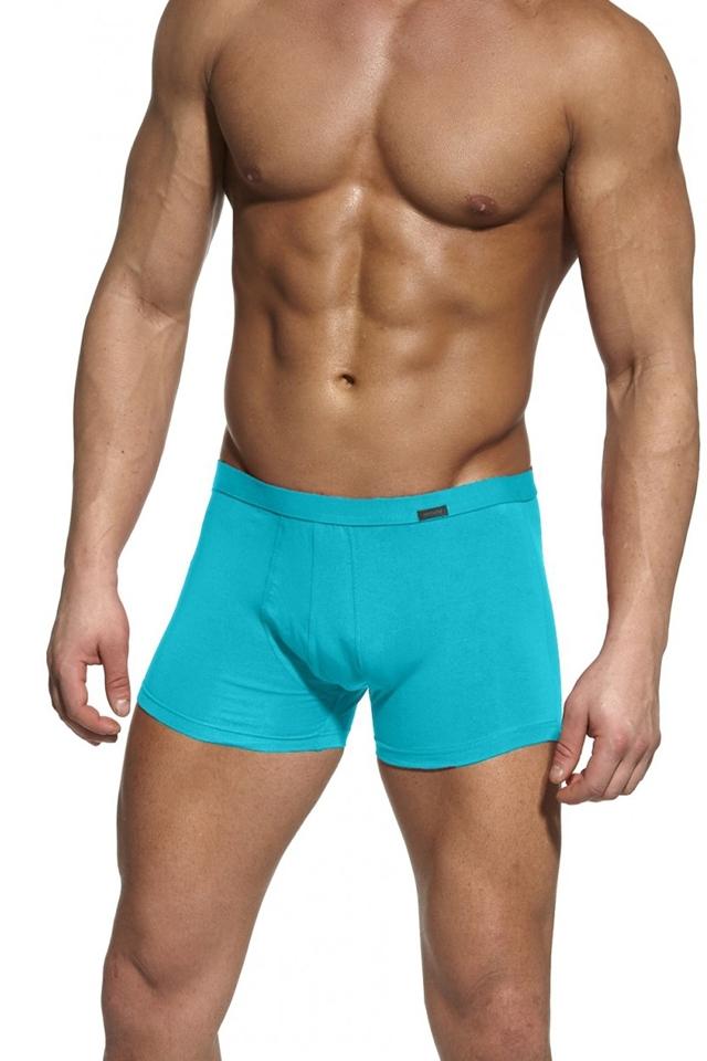 Pánské boxerky Authentic mini turquise - L - tyrkysová