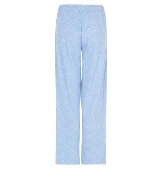 Dámské pyžamo - kalhoty QS1719E - Calvin Klein - XS - modrá-proužek
