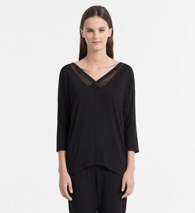 Dámské triko QS5780E - Calvin Klein