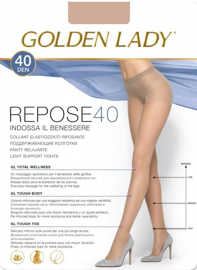 Punčochové kalhoty Repose 40 Den - Golden Lady