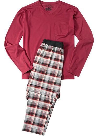 Pánské pyžamo 540006 - Jockey - L - bordo