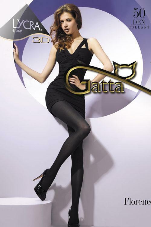 Punčochové kalhoty Gatta Florence 50 - 4-L - nero