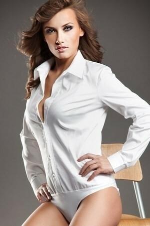 Dámská košile K22 - Nife - 40 - bílá