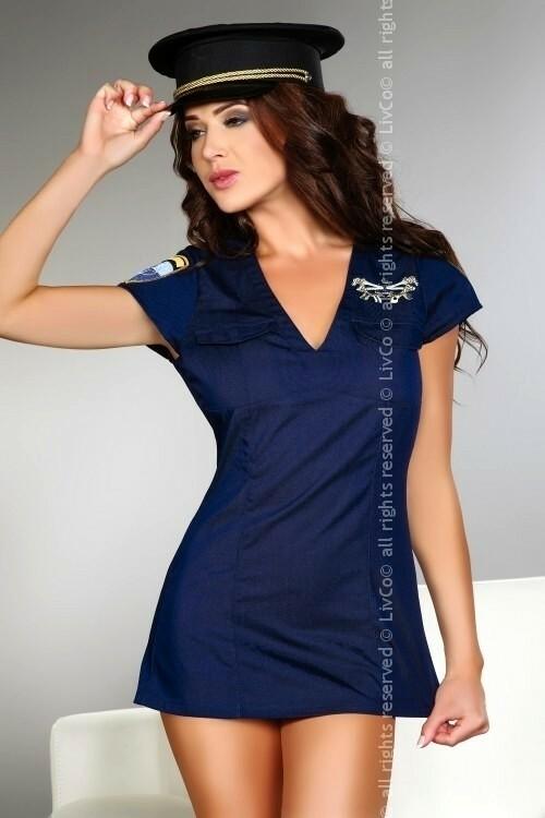 Sexy kostým Argenta - Livia Corsetti - L - modrá