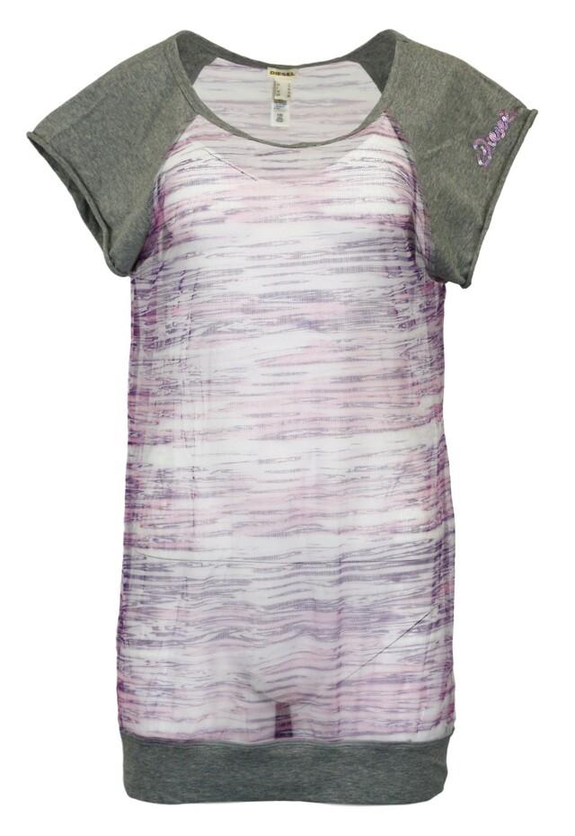 Dámské tričko BM00452 - Diesel - M - fialová