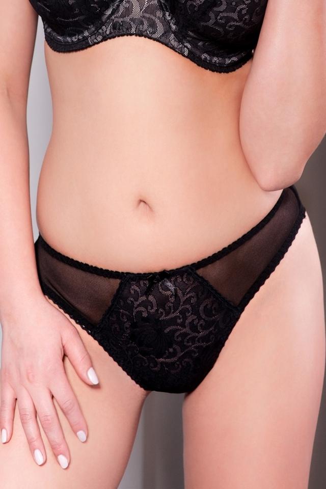 Dámské kalhotky 1209 black - XL - černá