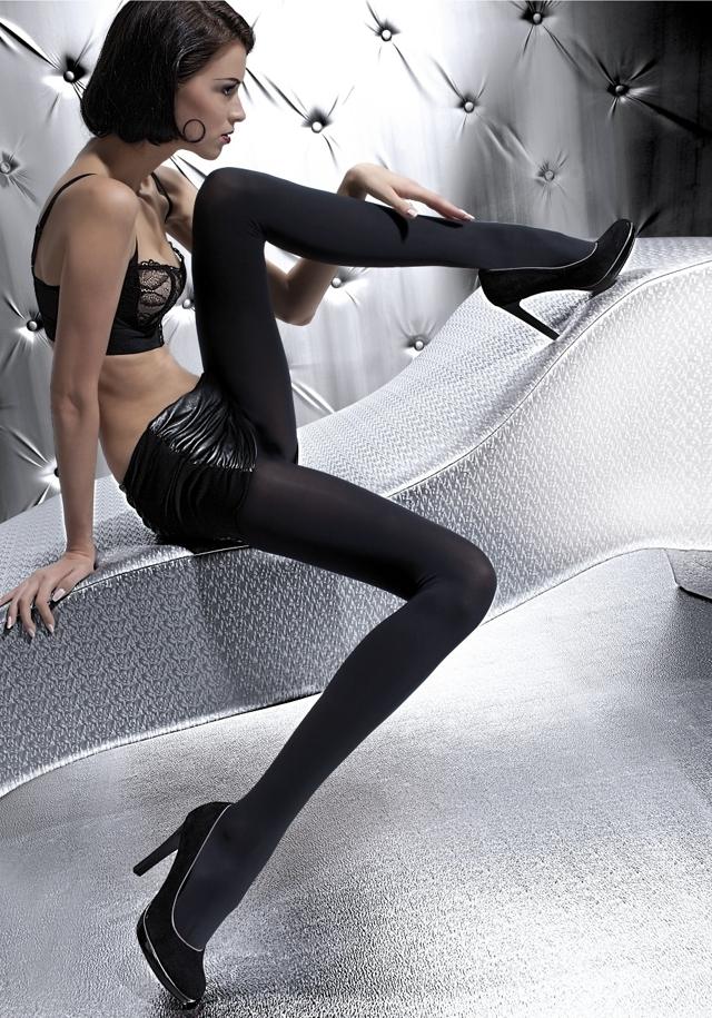 Punčochové kalhoty Olga  100 den Z 9010 - Fiore - 3 - černá
