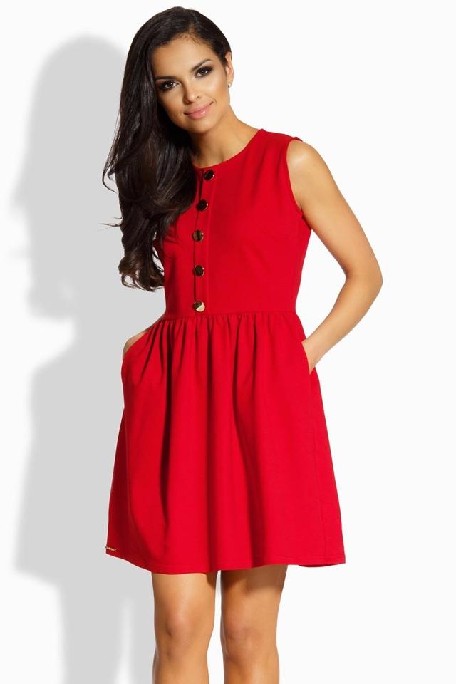 Dámské šaty Lemoniade L203 - M - červená