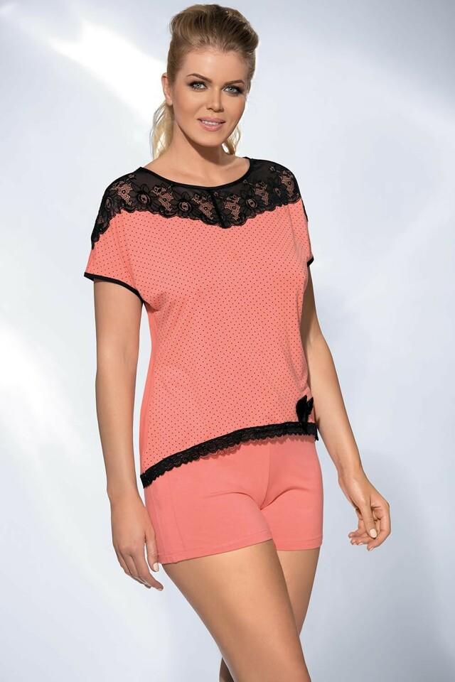 Dámské pyžamo PJ-17 - Ava - L - apricot