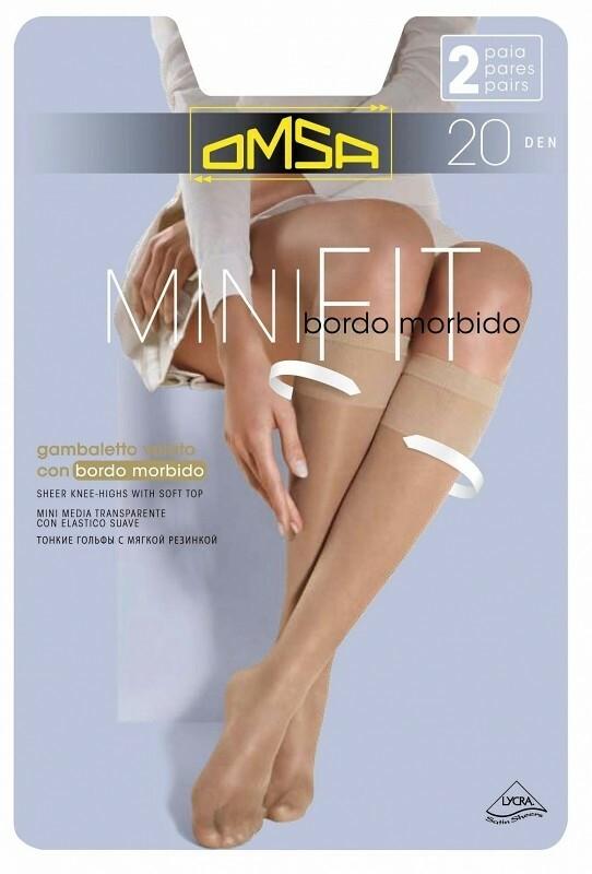 Podkolenky Omsa| Minifit 20 den A`2