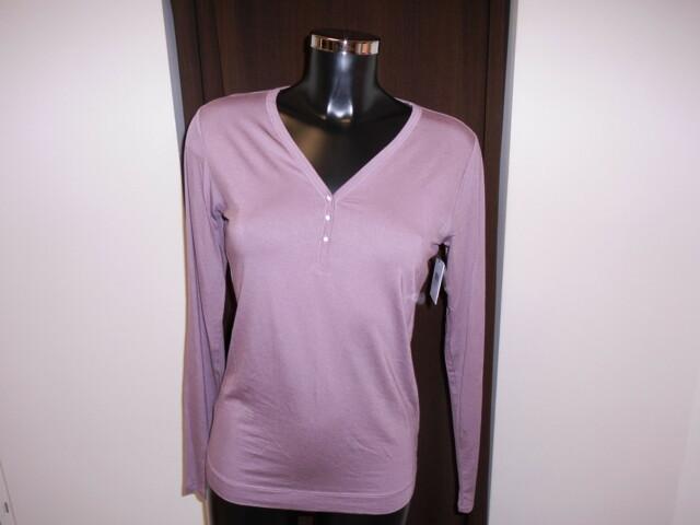 Dámské pyžamo S2707E - vrchní díl - fialová - Calvin Klein