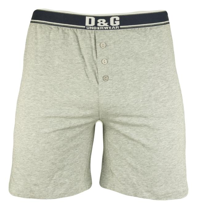 Pánské boxerky M30643 - Dolce Gabbana - M - šedá