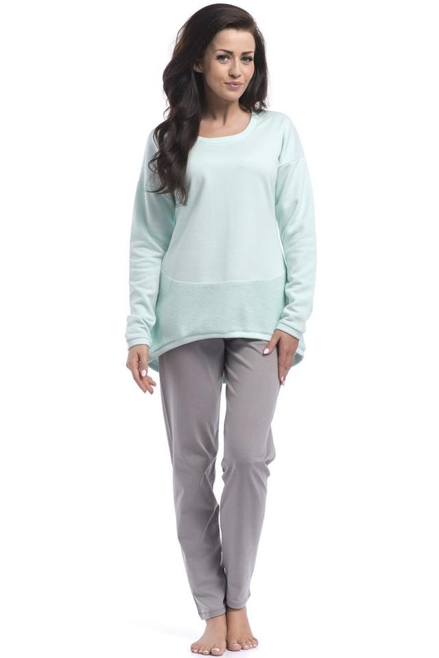 Dámské pyžamo Dobranocka PM.8040 - L - aquamarine