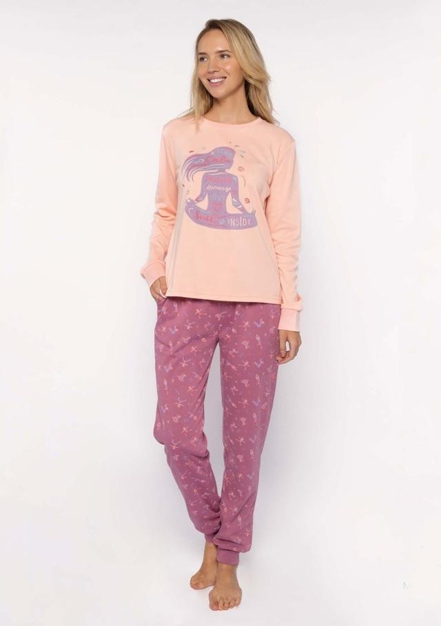 Dámské pyžamo Muydemi 210000 - M - Růžová