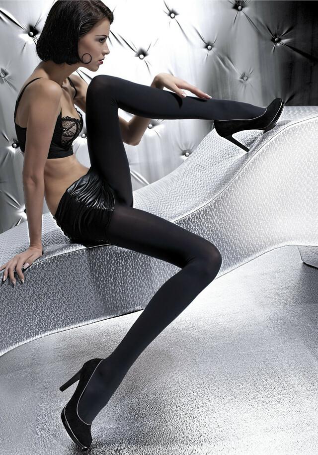 Punčochové kalhoty Fiore Olga 100 den 2-4 - 4-L - černá